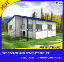 Good quality durable rockwool sandwich panel modular home prices