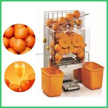 newest design 20pcs oranges per minutes home fresh orange juice vending machine