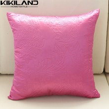 pink sofa pillows embossed damask pattern cushion covers, pillow case