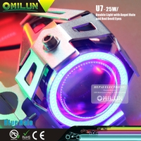 Factory direct U7 25W 3000Lm LED Motorcycle Headlight for Scooters