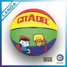 hight quality rubber cheap basketballs promotional