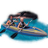2014 best selling 0.9mm pvc inflatable kayak/ fishing kayak /fishing boat for sale