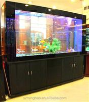 Elegant quality large acrylic fish tank with acrylic panels for aquarium