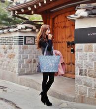 China Manufacturer shopping bag Fashion Canvas beach shoulder bag for girls