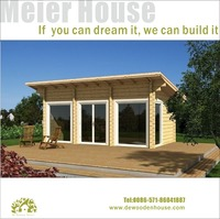 Holiday small single wooden house designDY-C-126