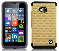 Carry by Metro pcs boost mobile smart cover case good quality for nokia lumia 640