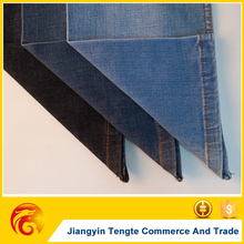 polyester cotton jeans fabric plain dyed