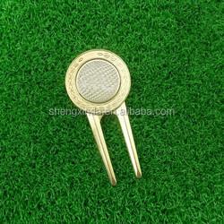 Wholesale Unique Set Magnetic Custom Golf Ball Marker Divot Repair Tool For Golf Equipment