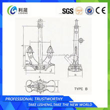 Factory Manufacturer Marine Anchor Manufactuer