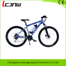 """manufacturers high performance mountain electric bicycle 18 speed Aluminum 26"""" 36V 250W brushless hub lithium-ion samsung 8.8Ah"""