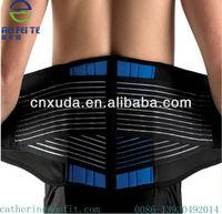 Lumbar Pain Relief Lower Back Support Belt Waist Velcro Straps (Factory OEM)