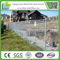 Removable Light Duty Hot-Dipped Galvanized Temporary Fencing