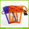 2015 Fashionable Hot Sale Three Zippers PVC Waterproof Cell Phone Bag