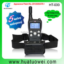 OEM service waterproof pet training collars for puppies from shenzhen supplier(HT-033)