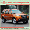 Toyota Tech Diesel Engine Made-in-China New Right Hand Drive 4x4 Diesel SUVs