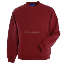 Hot sale custom plain vintage crewneck sweatshirts