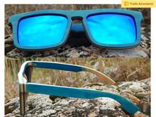 2015 OEM factory wood glasses 100% nature wholesale handmade custom bamboo eyewear wood sunglasses