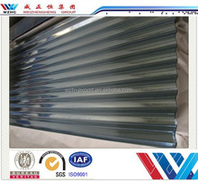 Building construction materials roofing sheet zinc corrugated roof