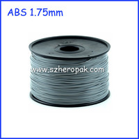 For 3D Printer Extruder Plastic Wire 3D Print ABS Silver 1.75mm ABS Filament