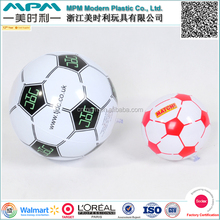 Top quality inflatable soccer beach ball, plastic inflatable beach soccer ball