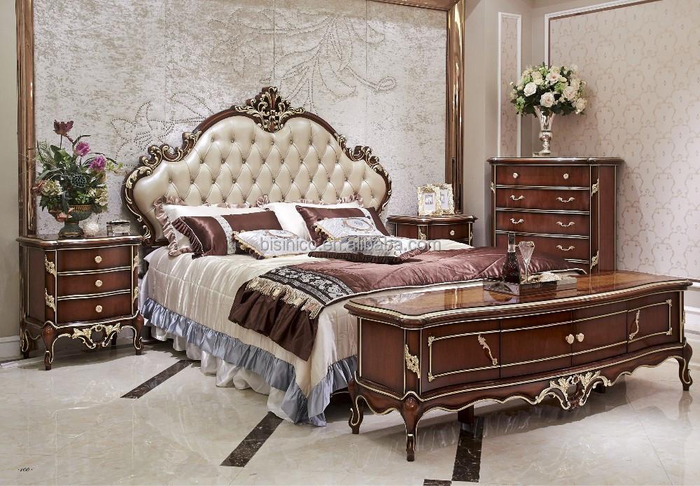 mobili camera da letto, in legno in stile italiano camera da letto ...