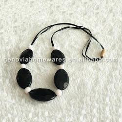 New design teething silicone pendant/jewelry beads with high quality