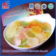 Deep-Fried Colored Prawn Cracker with delicious taste