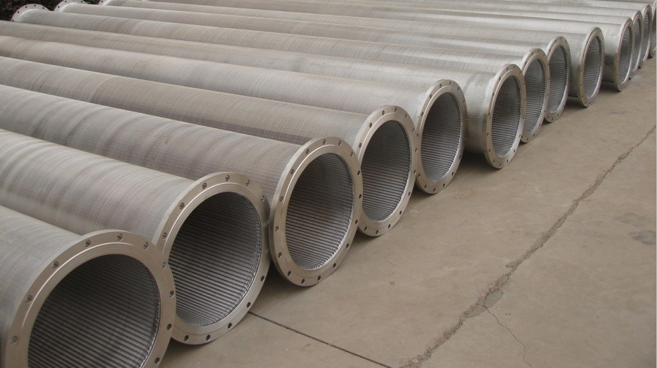 Deep well pvc casing pipes and water screens for