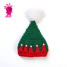 Hot sale christmas baby wool hats, Color matching hats