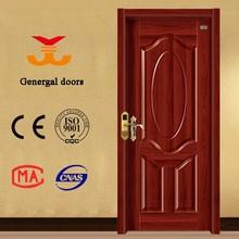 European style lowest price melamine wooden internal door