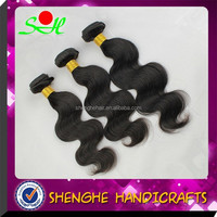 2015 hot sell fashionable 18 inch nature color hair wave unprocessed peruvian hair bundles free shipping to US
