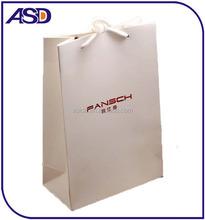 2015 Custom Logo Printed paper shopping bag for packaging ,Jewelry Paper Bag
