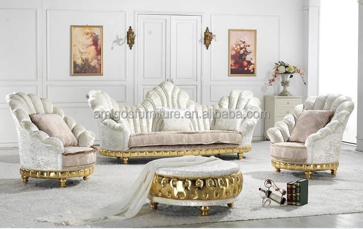 high back royal sofa sets french baroque living room sofa set american upholstery sofa soft. Black Bedroom Furniture Sets. Home Design Ideas