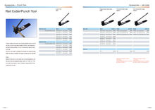 Shanghai UPUN DIN rail cutter/punch ,aluminum mounting rail cutting