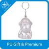 2015 cute gifts pu monkey keychain