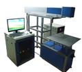 Hohe genauigkeit 10w co2 Vollansicht lasermarkiermaschine für Acryl-und kunststoff