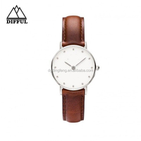 Wholesale high quality quartz watch,custom leather watch,unisex vogue watch