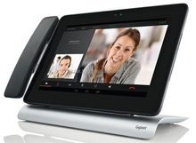 """Gigaset Maxwell VOIP IP SIP 10"""" Video Phone Telephone Android HD Voice Dect Cordless Wlan Wifi"""