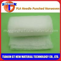 PLA needle punched nonwoven fabric, needle punched felt batting