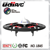 6 motors and HD camera ! 2.4G 4 CH 6 axis flying drone aircraft toys , UFO voyager 6
