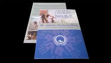 Popular design new style cheap leaflet self adhesive pvc sheet for photo album