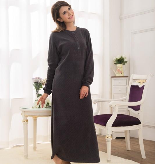 Haute Qualité À Faible Prix Arabe Emb Hiver Pyjamas Femmes