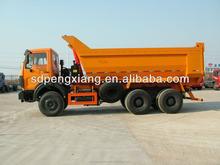 6*4 6.2m Beiben U style hopper tipper dump truck
