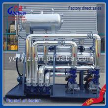 Los residuos de aceite calentador para productos de plástico, la fabricación de china