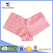 Young Lady Spandex Young Girl Underwear Sheer Lace Panties