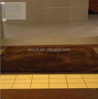 fancy rubber backed cheap wholesale area rugs/bathroom carpet