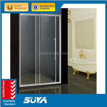 hot and cold massage glass hower room