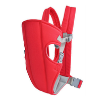 2015 New Cheap Safe Front Baby Carrier Backpack Sling Wrap Rider Infant Comfort Carrier Blue/Red