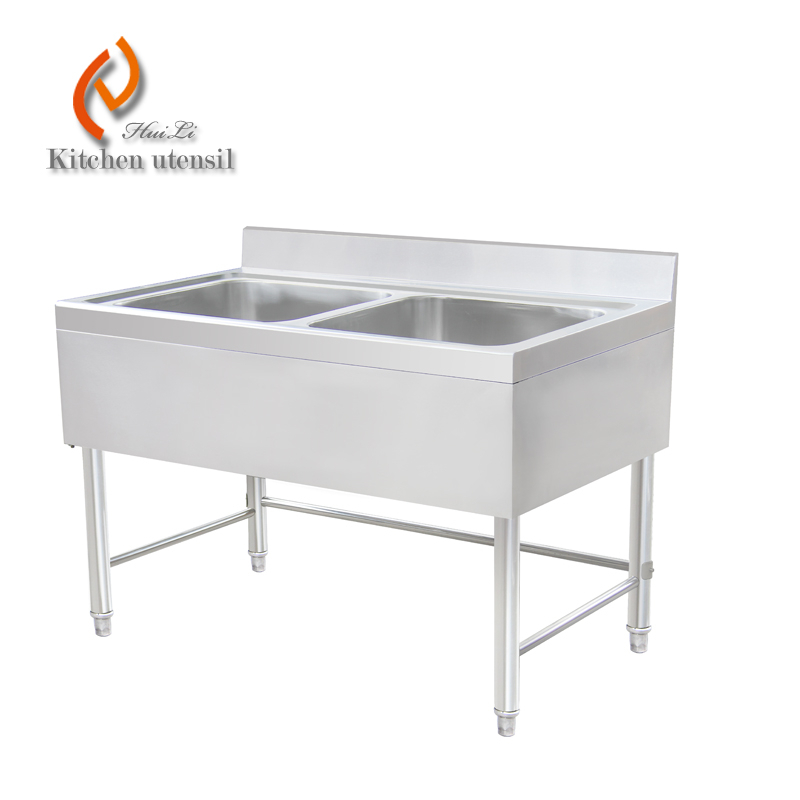 Double Laundry Sink With Cabinet : ... Laundry Sink Cabinet,Stainless Steel Double Bowl Laundry Sink Cabinet