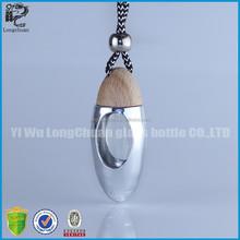 diamond shaped perfume bottles,car aroma diffuser liquid air freshnere bottle